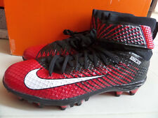 100% Auth Nike LunarBeast Elite TD Men Football Cleats Red sz 11 [779422-016]
