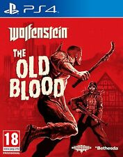 Wolfenstein - The Old Blood (PS4) NEW & SEALED - Fast Dispatch - Free UK P&P