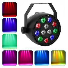 15W 8CH 12LED Licht-Effekt DMX Stage Lighting Strobe RGBW PAR DJ 110-240V