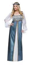ADULTS WOMENS HISTORIC LADY CAPULET ROMEO AND JULIET COSTUMES - LG 12-14