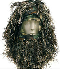 WG Sniper Grass Ghillie Yowie 3D Quiet Tactical Camouflage Head Cover Hood Hat