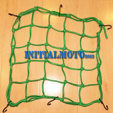 15'' X 15'' Motorcycle Bike Green Cargo Net Web Mat Baggage Carrier Helmet Mesh
