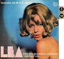 """Gianfranco Intra-Lea (sigla tv """"Secondo Lea"""")/Camelot (OST) 45 giri NM con punti"""