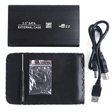 USB 2.0 SATA 2.5 HD Hard Drive Disk Case Enclosure Box For Laptop PC