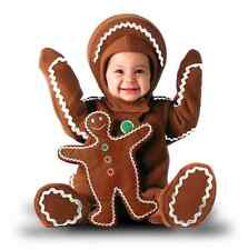 Tom Arma GingerBread Man Costume. size 6-12m Dress Ups/Costumes/Halloween