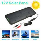 12V 4.5W Portable Solar Panel Power Battery Charger Backup For Car Boat Motor