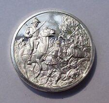 Franklin Mint Sterling Silver Mini-Ingot: 1815 Battle of New Orleans