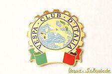 """Vespa insignia de metal """"Vespa Club d'Italia"""" Club Italia Emblema"""