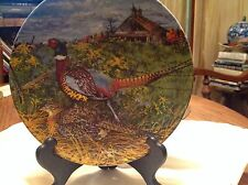 Edwin M. Knowles The Pheasant Collectible Plate