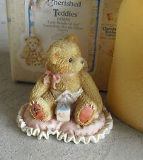 1994 Cherished Teddies Little Bundle of Joy Cupid Boy Figurine NIB