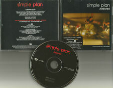 SIMPLE PLAN Addicted w/ VIDEO PROMO CD Single & AVRIL LAVIGNE TOUR DATES printed