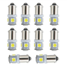 10 Pcs T11 BA9S 5050 SMD 5-LED Car Bulb Lamp Light Super Bright White 12V New