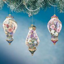 Delicate Treasures Ornaments  Lena Liu - Bradford Exchange