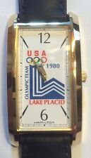 Olympic~Watch~Lake Placid~Limited Edition~41 of 250~Hamilton~1980~NOS~Ships Fast