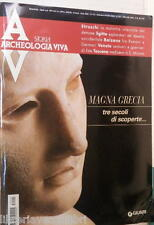 ARCHEOLOGIA VIVA N 113 Settembre Ottobre 2005 Magna Grecia Este dei veneti Dei