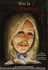 WHO IS J.K. ROWLING Kids BOOK Harry Potter NEW Biography AUTHOR Literature