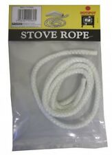 Hotspot 6mm x 1.5m Pre-Cut Glass Fibre Stove Rope For Sealing Stoves and Fires