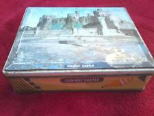 Vintage toffee tin Edward Sharp & sons Maidstone Kent picture of Conway Castle