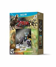 NEW Legend of Zelda: Twilight Princess HD Nintendo Wii U Wolf Link Amiibo Bundle