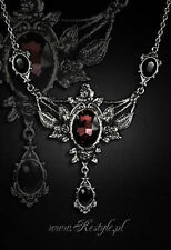 Restyle Wild Roses Floral Victorian Emo Evening Gothic Choker Charm Necklace