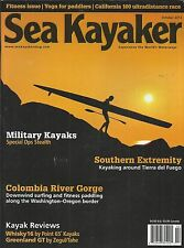Sea Kayaker magazine Military stealth Colombia River gorge Tierra del Fuego