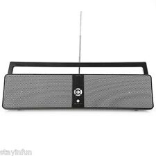 BTK3301 Portable HIFI Boombox Bluetooth Stereo Speaker Support AUX USB Input FM