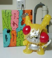 "Kid Robot Chris Ryniak MELTDOWN dunny 8"" YELLOW EDITION"