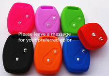 SILICONE HONDA 2 BUTTON CAR KEY COVER CIVIC ACCORD ODYSSEY