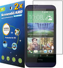 2x HD Clear LCD Screen Protector Guard Shield Cover Film for HTC Desire 510
