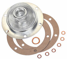 VW BUG GHIA BUS OIL STRAINER WITH GASKET 111115175B