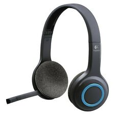 Logitech Wireless Noise Cancelling Over-the-Ear Headphones (H600) - Black
