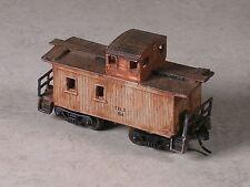N Scale Custom Assembled Logging Caboose #2