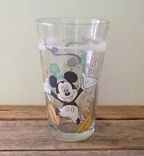 Vintage Mickey Mouse Celebration Birthday Party Drinking Glass Gibson China