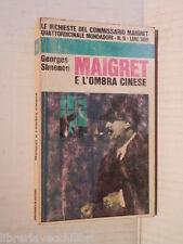 MAIGRET E L OMBRA CINESE Georges Simenon Mondadori Le inchieste del commissario