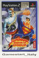 SUPERMAN SHADOW OF APOKOLIPS (PS2) - GIOCO USATO PERFETTAMENTE FUNZIONANTE - PAL