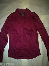 CLEARANCE SALE Banana Republic Red Long Sleeved Collared Shirt