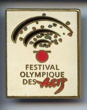 RARE BIG PINS PIN'S .. OLYMPIQUE OLYMPIC ALBERTVILLE 1992 FESTIVAL ARCS ~W1