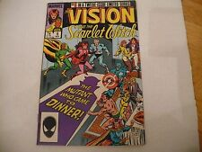VISION & THE SCARLET WITCH #6 OF 12 LIM SERIES(5.0 VG/FN) 3/86 -NICE MID GRADE!