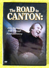 The Road to Canton ~ New DVD Movie ~ John Madden Football History Hall of Fame
