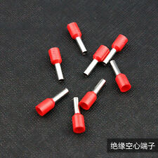 200Pcs  14 AWG Wire Copper Crimp Connector Insulated Pin Terminal