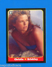 LE BELLISSIME -Masters Cards 1993 -n. 59 - CHRISTIE BRINKLEY - MODELLE -New