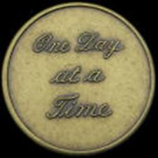 Recovery coins AA NA CA One Day at a Time Medallion tokens sobriety affirmation