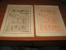 2 COPIES OF THE NORFOLK NEWS ENSIGN OCT 1953 & JULY 1955