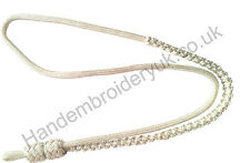 White Mylar Whistle Cord