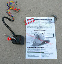 New Signal & Hazard Switch Ford Chevy Dodge Plymouth Nash Packard Rat Rod BLACK