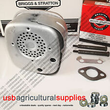 MUFFLER EXHAUST 5, 7 & 8HP ENGINES GENUINE BRIGGS & STRATTON 692304 391313 FAST