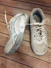 Dr. Scholls Tennis Shoes White Blue Woman 9 ❤️