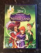 PETER PAN 2 - RETURN TO NEVERLAND DISNEY DVD  NEW & SEALED MINT FREE POST