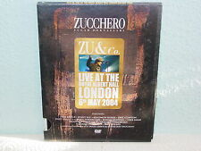 "*****DVD-ZU & CO.(ZUCCHERO)-LIVE AT ROYAL ALBERT HALL LONDON 6th May 2004""*****"