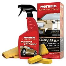 Mothers 07240 California Gold Clay Bar System Single Unit Mothers
